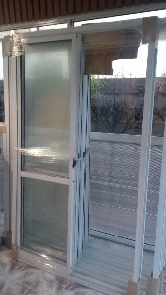 Puerta Ventana de Aluminio Corrediza 1.80 x 2.00