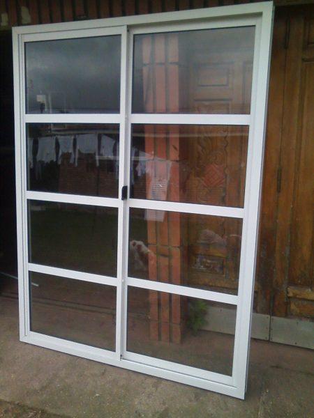 Puerta Ventana Corrediza Vidrio repartido Horizontal 1.20 x 2.00