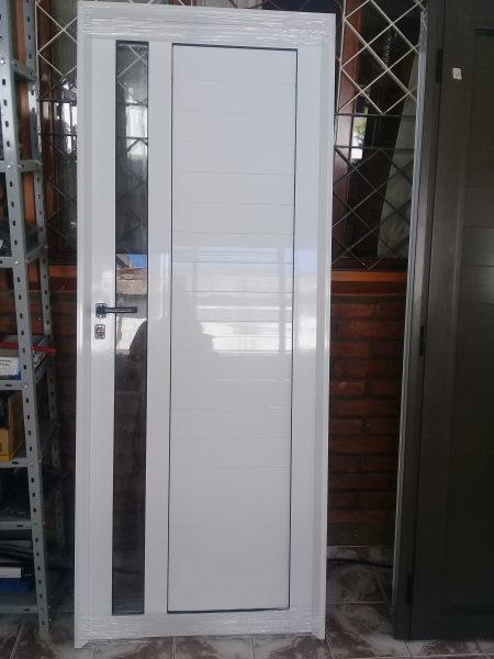 Puerta Aluminio 80 x 200 vidrio vertical